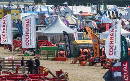 Visitors to SIAFD 2019 enjoyed more displays and machinery demonstrations then ever before.